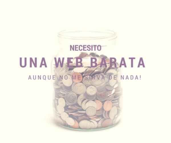 web barata