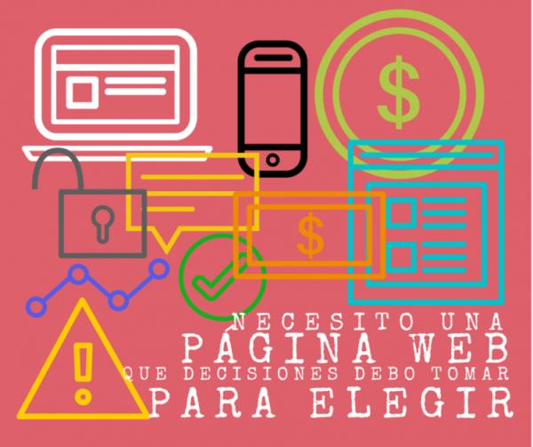 elegir una web